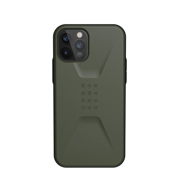 Чехол UAG Civilian Series для iPhone 12 Pro Max оливковый (Olive)