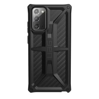 Чехол UAG Monarch Series Case для Samsung Galaxy Note 20 чёрный карбон (Carbon Fiber)