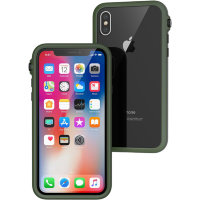 Чехол Catalyst Impact Protection Case для iPhone X/iPhone Xs зелёный