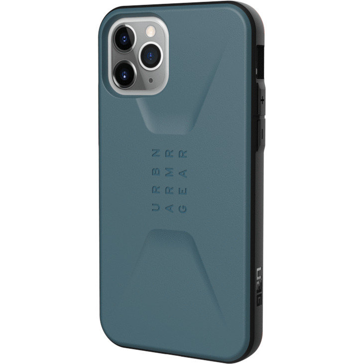 Чехол UAG Civilian Series для iPhone 11 Pro серый шифер (Slate)
