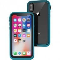 Чехол Catalyst Waterproof Case для iPhone X синий Glacier Blue