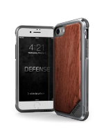 Чехол X-Doria Defense Wood для iPhone 7/8/SE 2 коричневый
