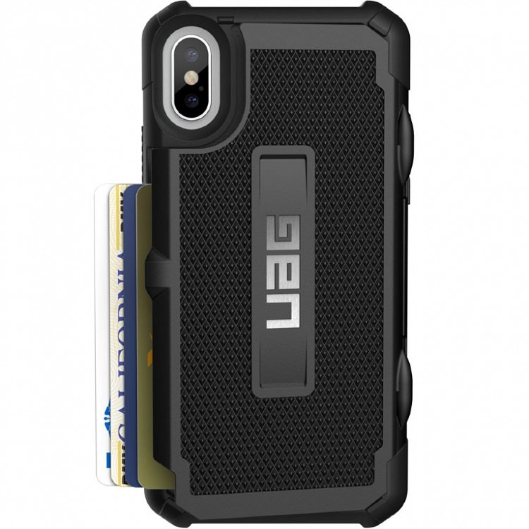 Чехол UAG Trooper Series Case для iPhone X/iPhone Xs чёрный