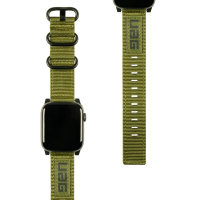 Ремешок UAG Nato Strap для Apple Watch S4 42/44mm - оливковый (Olive Drab)