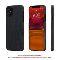 Чехол PITAKA Air Case для iPhone 11 чёрный карбон - Twill (KI1101RA)