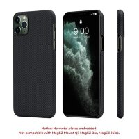 Чехол PITAKA Air Case для iPhone 11 Pro чёрный карбон -Twill (KI1101A)