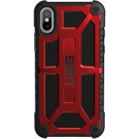 Чехол UAG Monarch Series Case для iPhone X/iPhone Xs красный Crimson