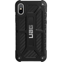 Чехол UAG Monarch Series Case для iPhone X/iPhone Xs чёрный карбон