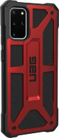 Чехол UAG Monarch Series Case для Samsung Galaxy S20 Plus красный