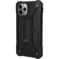 Чехол UAG Monarch Series Case для iPhone 11 Pro Max чёрный карбон